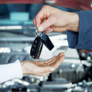 Autoabholung ab Werk-MG-Transfer